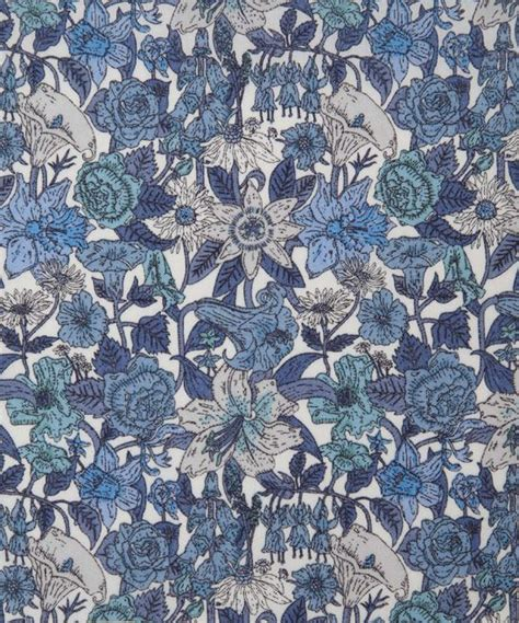 Tapisserie Tissu by Liberty Fabrics Phyllis D Tana Lawn Backgrounds