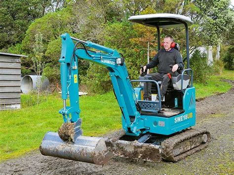 sunward sweub mini excavator review