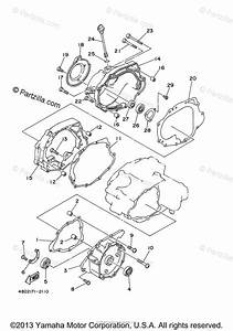 Yamaha Atv 2005 Oem Parts Diagram For Crankcase Cover  1