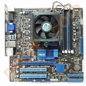 Asus M5a78l Usb3 Motherboard   Amd Athlon Ii X3 450   3 2ghz   4gb Ddr3 Bundle Motherboards