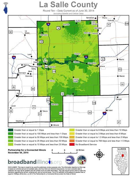 la salle county maps broadband illinois