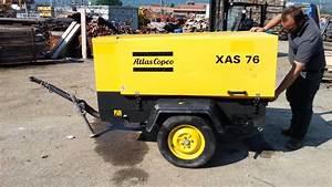 Motocompressore Atlas Copco Xas 76