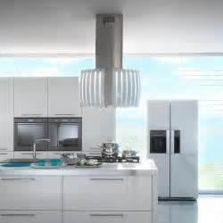 quot pearl white quot by futuro futuro designer glass island range contemporary range hoods