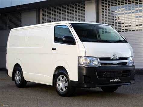 Toyota Hiace Wallpapers by Toyota Hiace Lwb Au Spec 2004 10 Wallpapers 2048x1536