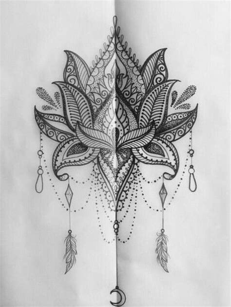 Pin by Skyla McCleese on tattoos | Lotus tattoo design