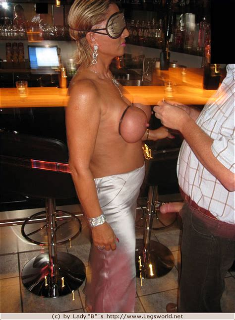 Busty Older Slut Seduced For Hardcore Anal Sex With Stranger In The Bar