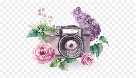 watercolor painting photography camera