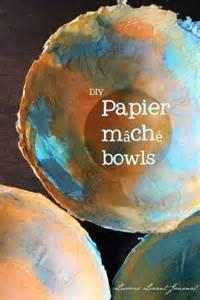 DIY Paper Mache Bowl