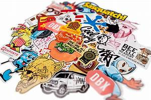 sticker types With customise sticker
