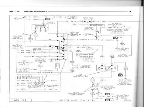 dodge headlight switch wiring diagram wiring