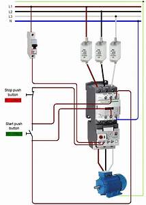Wiring 20a 20contactor For Contactor And Overload Wiring