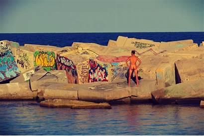 Beach Nudist San Sebastian Barcelona Things Inside