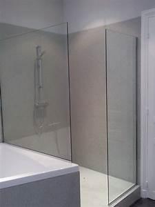 Pare Douche Lapeyre : pare de douche pare baignoire petite largeur paroi de ~ Zukunftsfamilie.com Idées de Décoration