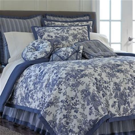 jc penneys bedding toile garden comforter set jcpenney s new house