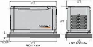 Dimensions For A 20kw Generac Generator