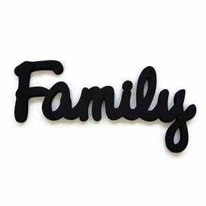 Family wall sign wooden lettering wall hanging for Family wooden wall letters