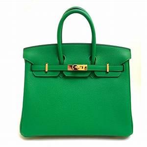 Hermes Tasche Birkin : herm s hermes birkin 25cm bamboo togo leather gold hardware handbags leather green ~ A.2002-acura-tl-radio.info Haus und Dekorationen