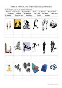 Exercise! Worksheet  Free Esl Printable Worksheets Made By Teachers