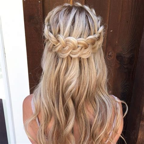 pretty half up half down hairstyles partial updo wedding