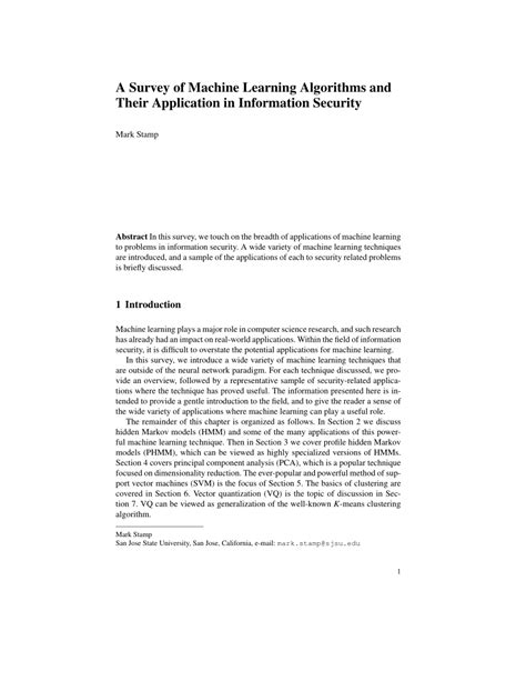 (PDF) A Survey of Machine Learning Algorithms and Their