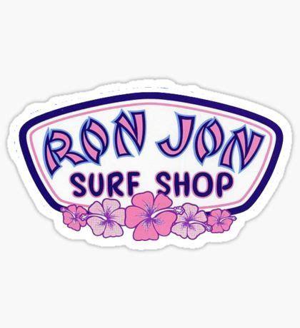 Laptop Stickers | Surf stickers, Ron jon surf shop, Surf ...