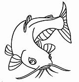 Catfish Coloring Pages Eye Eyes Drawing Bluegill Sketch Beuatiful Printable Animal Clipart Preschool Scary Getcolorings Getdrawings Pencil Place Designs Clipartmag sketch template