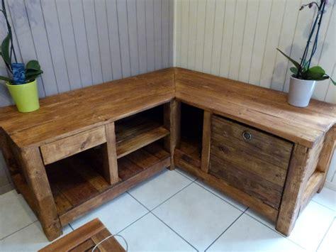 meuble en coin pour cuisine meuble d 39 angle tv fly maison et mobilier d 39 intérieur