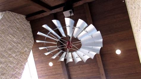 windmill fan with light windmill ceiling fans of texas welcome youtube
