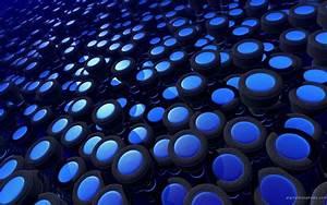 3D Blue Wallpaper
