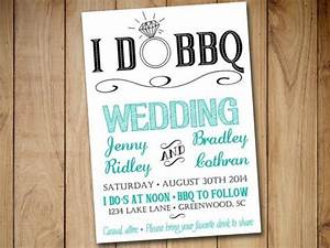 I do bbq wedding invitation template download blue teal for I do bbq wedding invitations templates