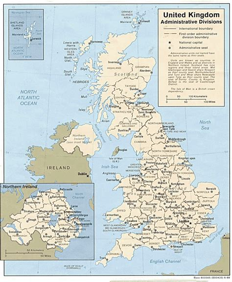 Maps Of The United Kingdom  Detailed Map Of Great Britain