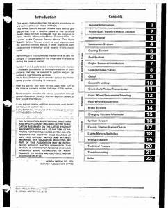 Honda Vfr400 Nc30 Service Manual