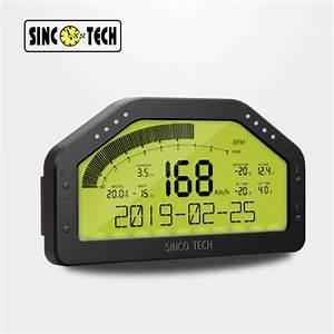 China Do908 Sinco Tech Dash Race Display Sensor Kit  Dashboard Lcd Screen Wire Harness  Gauge