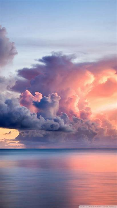 Clouds Sunset Guam Wallpapers Cloud Smartphone Background