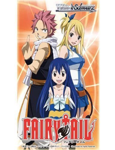 Weiss Schwarz Extra Booster Fairy Tail Fairy Tail Anime