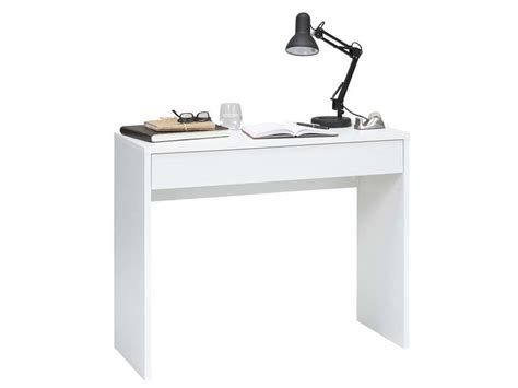petit bureau informatique conforama console de bureau conforama