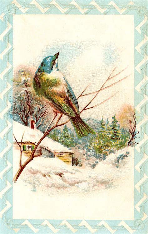 catnipstudiocollage  vintage clip art farewell