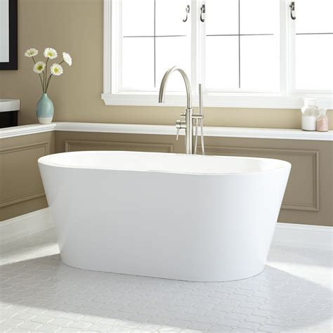 Freestand Bathtub by Leith Acrylic Freestanding Tub Bathroom