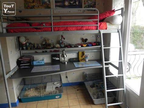 lit mezzanine bureau ikea lit mezzanine 1 place bureau essonne