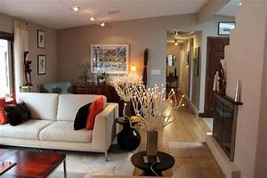 L shaped campellini ranch makeover contemporary living for Interior decorating l shaped living room