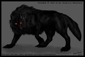 Black Anime Wolf 27 Background Wallpaper ...