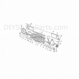 Qualcast Scarifier Cassette Petrol 43  F016l80672  Parts Diagram  Page 1