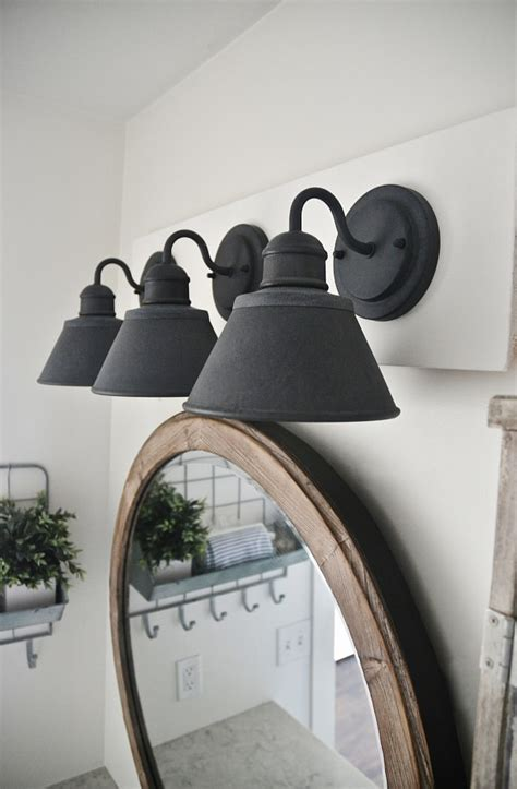 farmhouse bathroom lighting boost your home s value 9 easy diy projects decorating