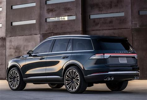 2019 Lincoln Aviator Concept Rear Fordcarblog