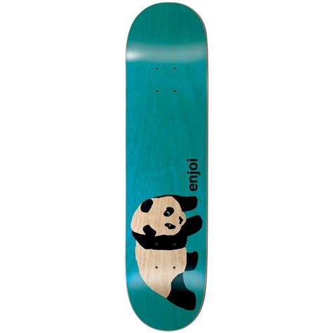 Enjoi Skateboard Deck 775 by Enjoi Original Panda Clear 7 75 Skateboard Deck Evo