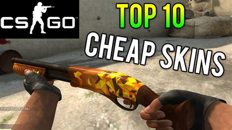 Cs Go  Top 10 Cheap Skins! Best Skins For Under $2