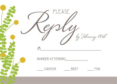 rsvp cards for weddings wording wedding rsvp invitation wording samples anniversary