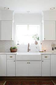 organize cabinets in the kitchen farmhouse sink with overhead pendant light by 7215