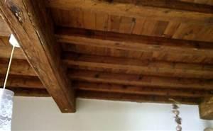Comment Blanchir Du Bois : comment blanchir la chaux un plafond en bois trait et lasur ~ Melissatoandfro.com Idées de Décoration