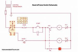 Hand Off Auto Switch Operation - Electrical Engineering